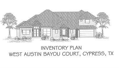Cypress Single Family Home For Sale: 19203 W Austin Bayou