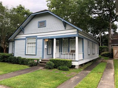 Houston Single Family Home For Sale: 616 W 15th Street