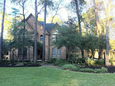 The Woodlands Single Family Home For Sale: 122 E Placid Hill Circle