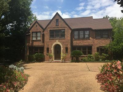River Oaks Single Family Home For Sale: 2510 Inwood