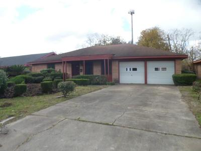 Houston TX Single Family Home For Sale: $95,000