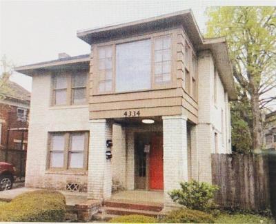 Houston Multi Family Home For Sale: 4334 Polk Street #4