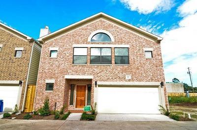 Houston Condo/Townhouse For Sale: 3716 Main Plaza Drive
