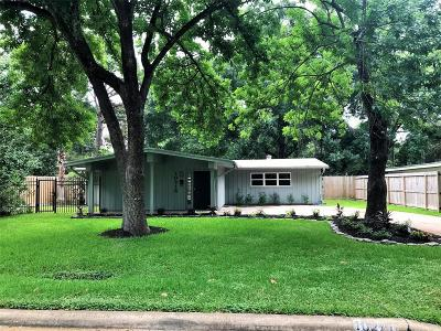 Houston Single Family Home For Sale: 10215 Eddystone Drive