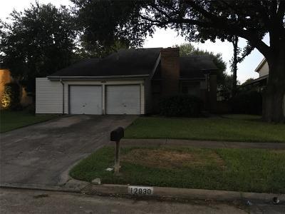 Houston Single Family Home For Sale: 12930 Knotty Glen Lane