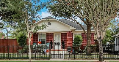 Houston Single Family Home For Sale: 802 Pecore Street