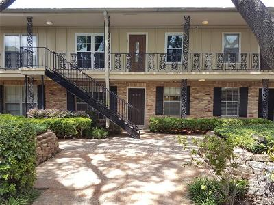Houston TX Condo/Townhouse For Sale: $135,000