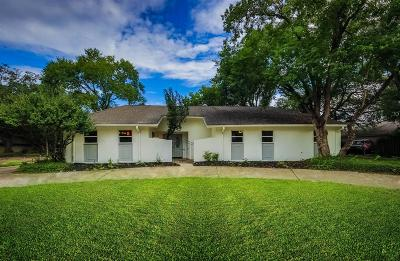Houston Single Family Home For Sale: 5222 Braesheather Drive