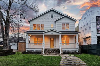 Houston Single Family Home For Sale: 306 Aurora