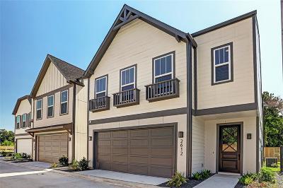 Houston Single Family Home For Sale: 2612 W Tidwell Street