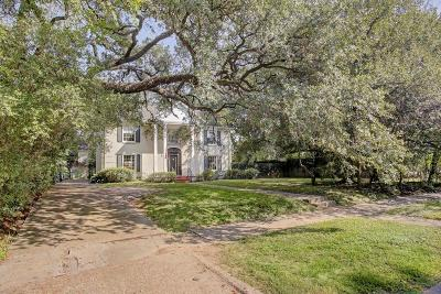 River Oaks Single Family Home For Sale: 2104 Brentwood Drive