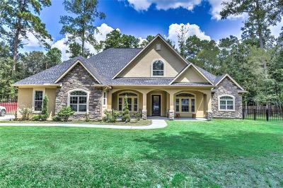 New Caney Single Family Home For Sale: 2419 Hummingbird St