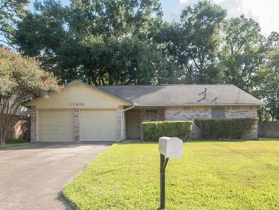 Humble Single Family Home For Sale: 17406 Little Shoe Lane