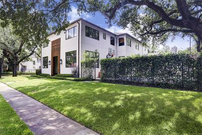 Harris County Single Family Home For Sale: 3001 Georgetown Street