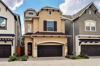 Houston Single Family Home For Sale: 1713 Waterbury