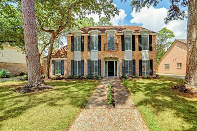Houston Single Family Home For Sale: 3502 Woodbriar Drive