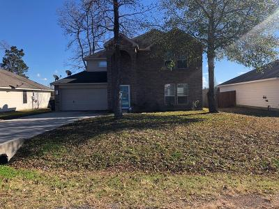 Willis Single Family Home For Sale: 14032 Buckskin Drive