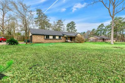 Conroe Single Family Home For Sale: 205 Woodland Drive