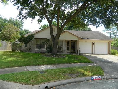 Katy Single Family Home For Sale: 3130 Williams Circle