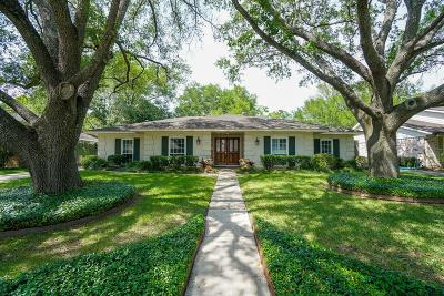Houston TX Single Family Home For Sale: $650,000