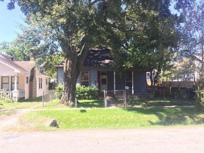 Houston Single Family Home For Sale: 415 Arlington Street
