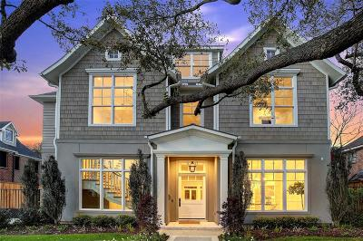 Houston Single Family Home For Sale: 2126 Pelham Drive