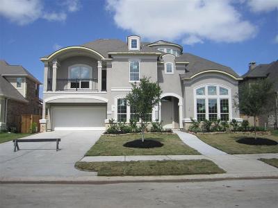 Katy Single Family Home For Sale: 2806 Dogwood Terrace Lane