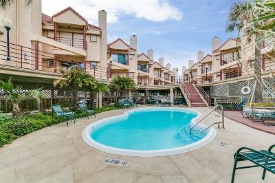 Galveston Condo/Townhouse For Sale: 7312 Seawall Boulevard #224