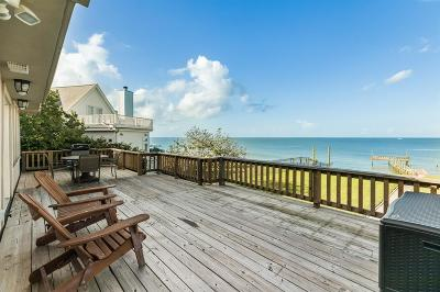Bacliff Single Family Home For Sale: 5415 W Bayshore Drive