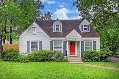 Garden Oaks Single Family Home For Sale: 323 W 31st Street