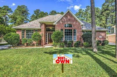 Houston Single Family Home For Sale: 2251 Deer Cove Trail
