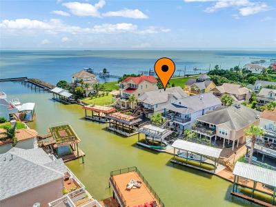 San Leon Single Family Home For Sale: 112 Starboard Drive