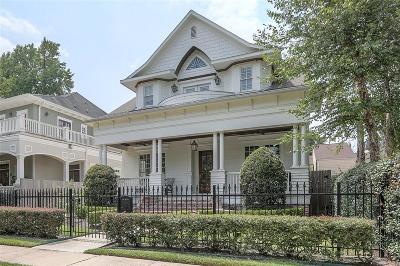 Houston Single Family Home For Sale: 2045 Harvard Street