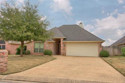 College Station Single Family Home For Sale: 212 Rugen Lane