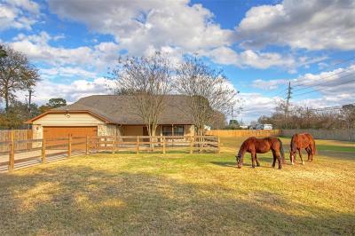 Cypress Single Family Home For Sale: 1 Live Oak Trail