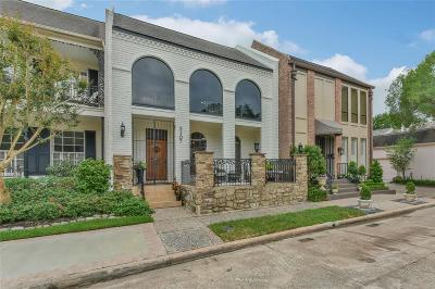 Houston Condo/Townhouse For Sale: 2107 Fulham Court