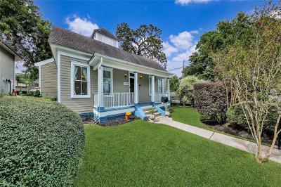 Houston Single Family Home For Sale: 1343 Allston Street