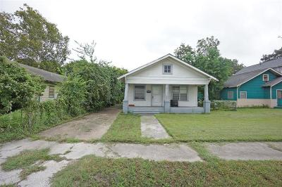 Single Family Home For Sale: 815 E 25th Street