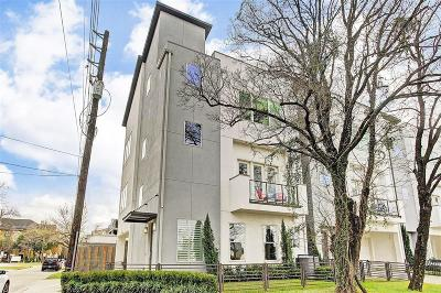 Houston Single Family Home For Sale: 1602 Valentine Street