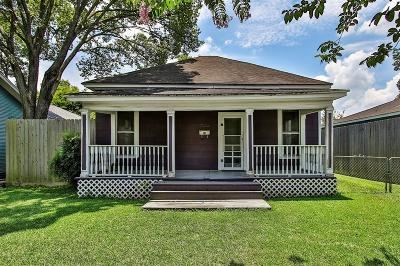 Houston Single Family Home For Sale: 1010 E 25th Street