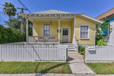 Galveston Single Family Home For Sale: 2009 34th Street