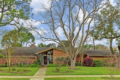 Meyerland Single Family Home For Sale: 5114 Queensloch