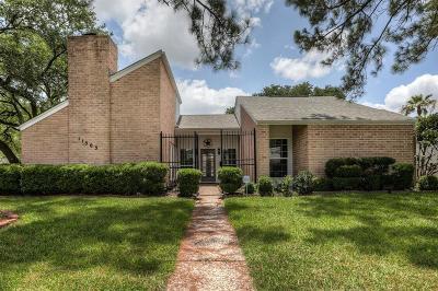 Houston Single Family Home For Sale: 11503 Ella Lee Lane