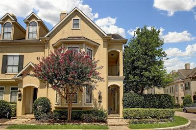 Houston Condo/Townhouse For Sale: 543 Archwood Trail