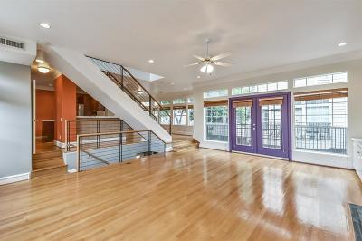 Houston Condo/Townhouse For Sale: 1106 Jackson Boulevard #B
