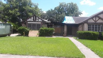 Houston Single Family Home For Sale: 13915 Bonnercrest Drive