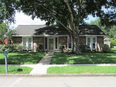 Friendswood Single Family Home For Sale: 16314 Blackhawk Boulevard