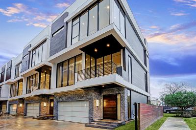 Houston Condo/Townhouse For Sale: 819 W 24th Street #D