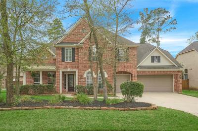 The Woodlands Single Family Home For Sale: 91 S Fair Manor Circle