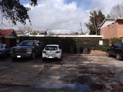Houston Multi Family Home For Sale: 1612 Colquitt Street